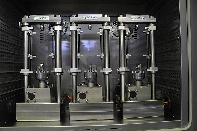 Environmental simulation in a dynamic climate chamber