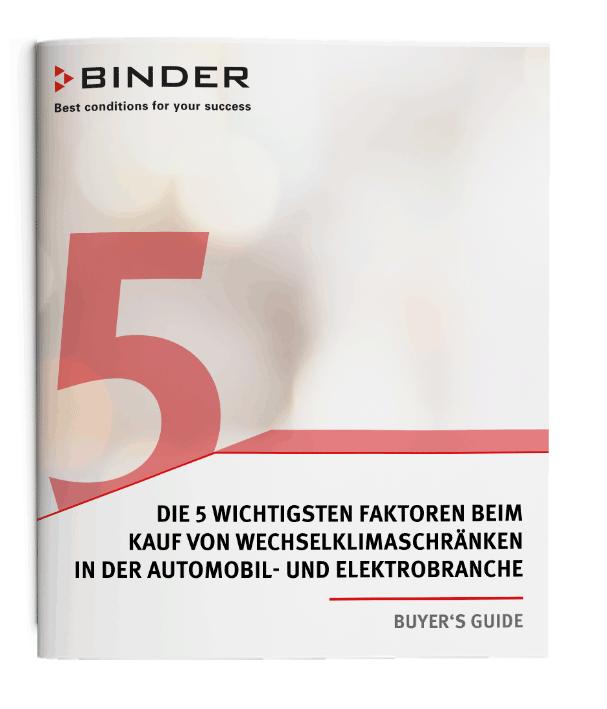 Download Buyer's Guide Wechselklimaschrank