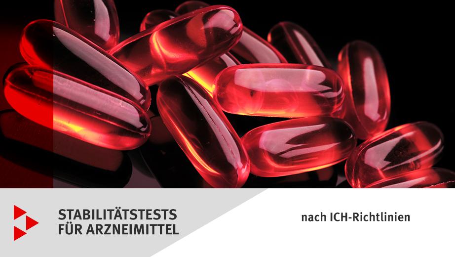 Stabilitätstests für Arzneimittel