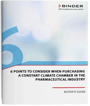 Buyers guide constant climate chamber